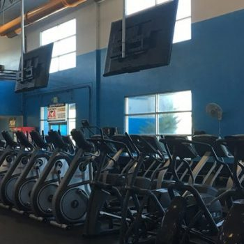 Gym inside Sparks